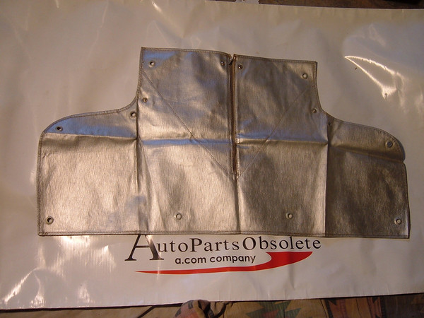 1941 chevrolet radiator cover nos gm accessory (z 41 chevy rad cover)