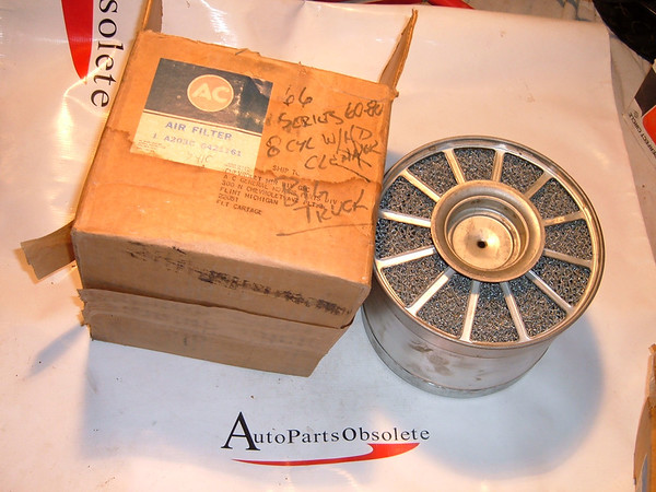 1966 chevrolet truck air filter oil bath nos gm # 6421161 (z 6421161)