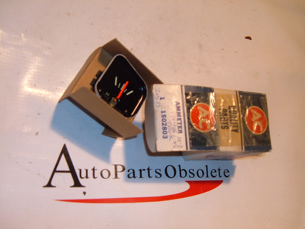64 ,65,66 chevrolet truck ammeter gauge dash unit nos gm # 1502803 (z 1502803)