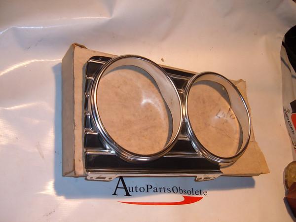 View Product1966 chevrolet impala headlight bezel nos gm 3869747 (z 3869747)
