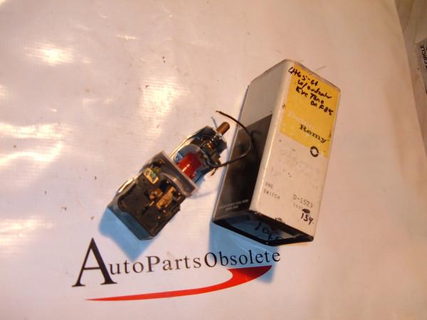 64,65,66 oldsmobile headlight switch with auto eye nos gm # 1995134 (Z 1995134)