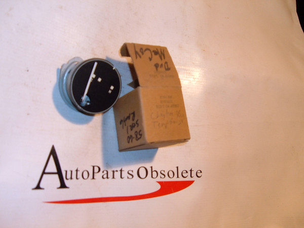 58,59,60 rambler temperature gauge dash unit nos # 3200846 (z 3200846)