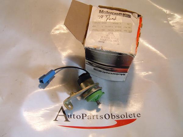 View Product77,78,79,80,81 ford fairmont,mustang, pinto idle stop solenoid nos ford # D7PZ 9D856 D (z d7pz9d856d)