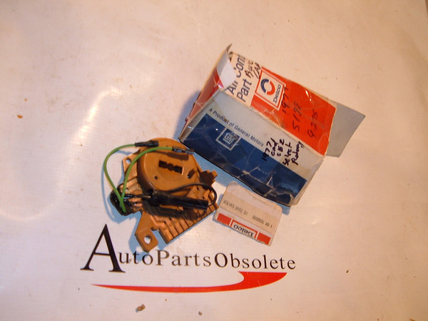 1977 cadillac buick oldsmobile air conditioning selector switch nos gm # 7896095 (z 7896095)