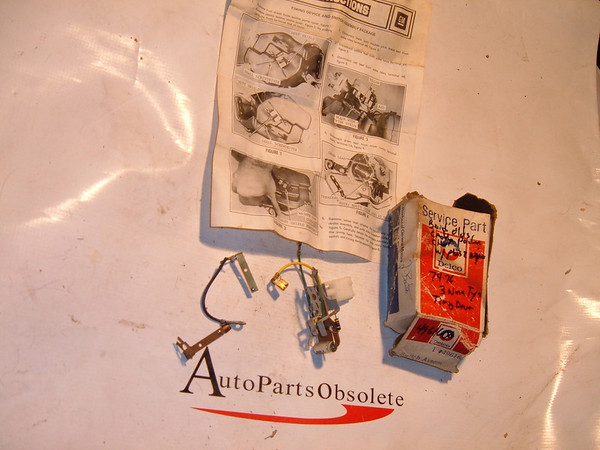 View Product74,75,76 cadillac, buick pontiac windshield wiper pluse switch nos gm # 4961600 (z 4961600)