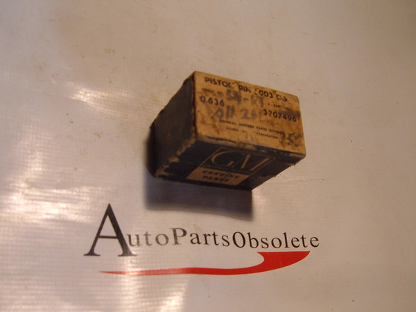 1954,1956,1958,1960,1963 chevrolet piston pins nos gm # 3707496 (z 3707496)