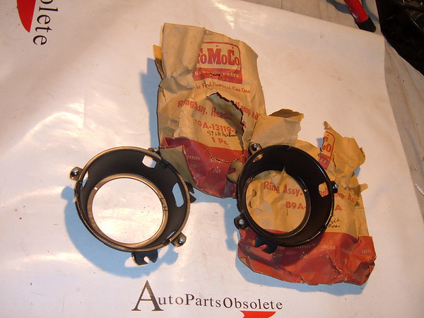 View Product1959 ford passenger headlight buckets nos ford # B9A 13118/19 A (z b9a13118/19a)
