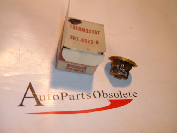 1949,1950 ford radiator thermostat nos ford # 8RT 8575 B (z 8rt8575b)