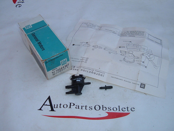 1981,1982,1983 citation skylark emissions valve nos gm # 10044387 (z 10044387)