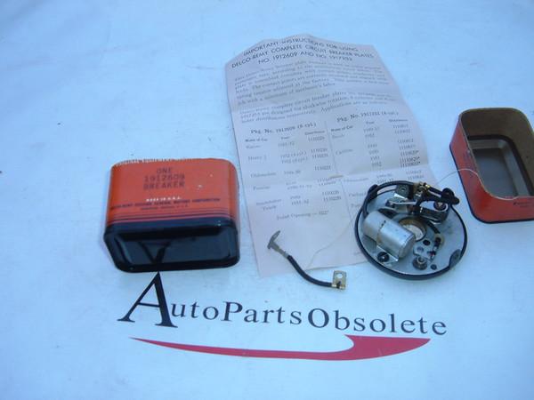 View Product1949,1951,1954 pontiac studebaker, oldsmobile distributor braker plate nos gm # 1912609 (z 1912609)