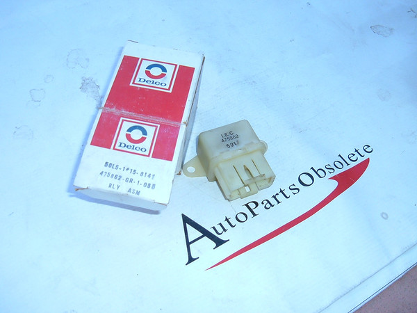 1980,1981,1982 chevrolet,pontiac oldsmobile coolant fan realy nos gm # 475862 (z 475862)