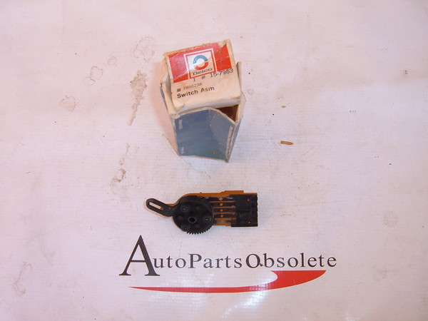 1977,1979,1981 impala,oldsmobile, cadillac air conditioning switch NOS gm # 7896238 (z 7896238)