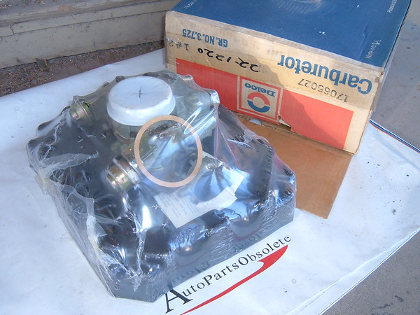1976 pontiac,buick, oldsmobile rochester carburetor nos gm # 17065027 (z 17065027)