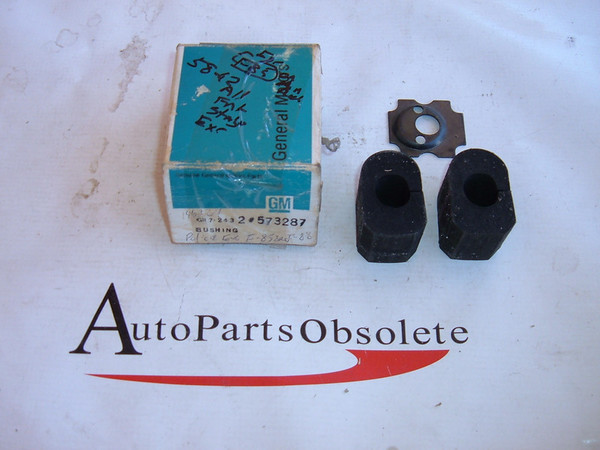 1958,1960,1962,oldsmobile frt stabilizer bushings nos GM # 573287 (z 573287)