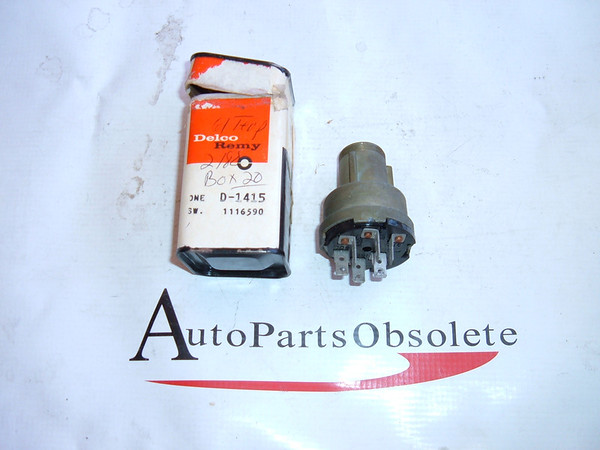 1961,1962 pontiac tempest oldsmobile F-85 ignition switch nos gm # 1116590 (z 1116590)