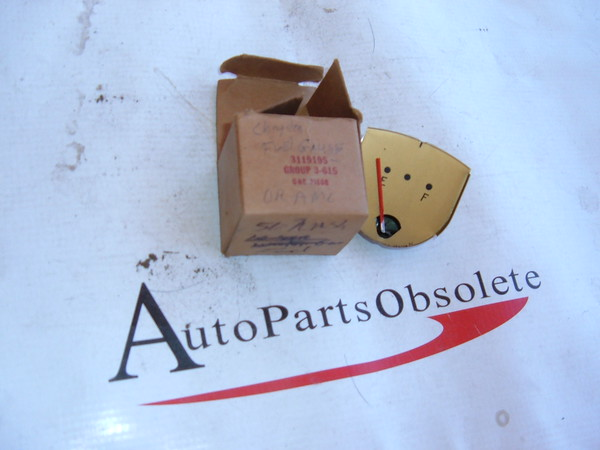 1956,1957 nash-rambler fuel/ gas gauge dash unit nos # 3119195 (z 3119195)