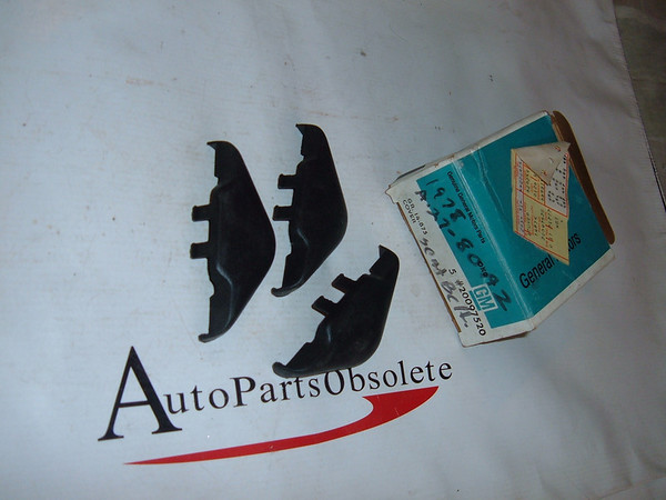 1978,1979,1981 monte carlo chevelle, impala seat belt covers nos gm # 20097520 (z 20097520)