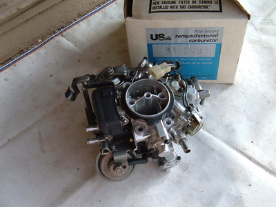 1984 85 chrysler k car solex carburetor 2 bar rebuilt (z 33298)