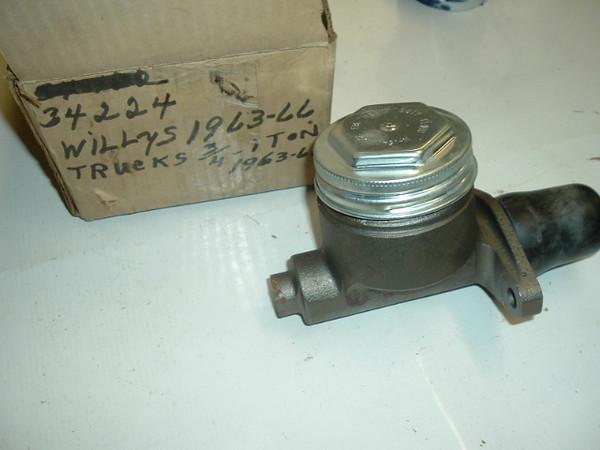 1964 65 66 Jeep Wagoneer & Truck REman brake master cylinder (A 34224x)