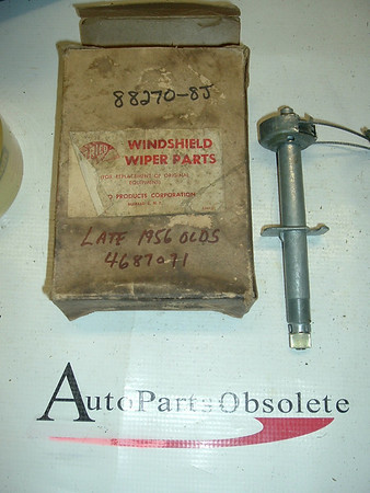 19546 OLdsmobile nos windshield wiper linkage w/cable (A 88270-8j)