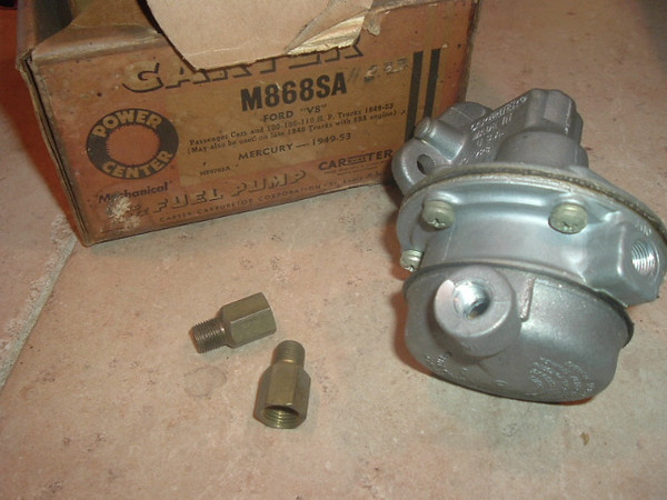 1949 1950 19541 1952 1953 Ford Mercury 8 fuel pump (A m868sa)