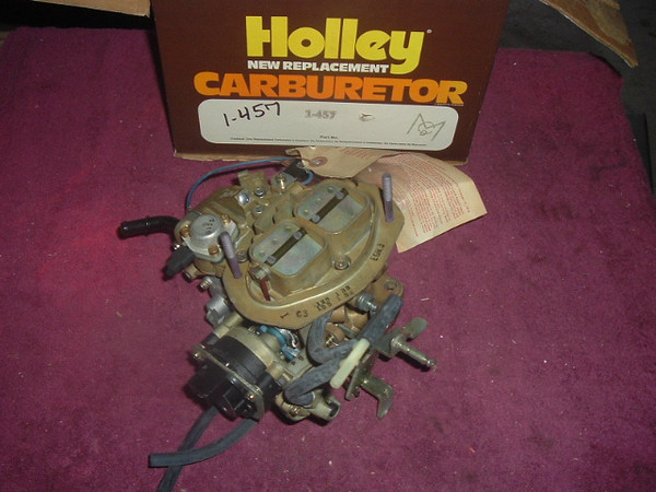 1978 dodge plymouth chrysler 1.7L NEW holley carb (A 1-457 Holley)