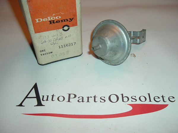 1964 1965 1966 Chevelle Nova distributor vacuum advance (a 1116217 d1353)