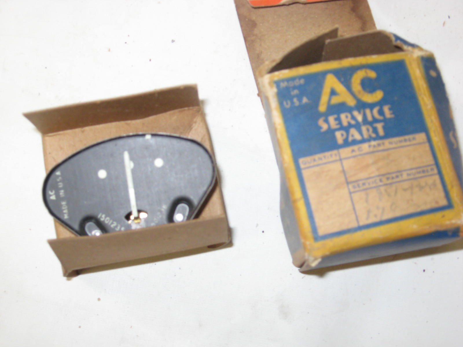 1951 52 Chevrolet Bel Air Styleline Fleetline Dashboard Ammeter Gauge 1501235 (a 1501235)