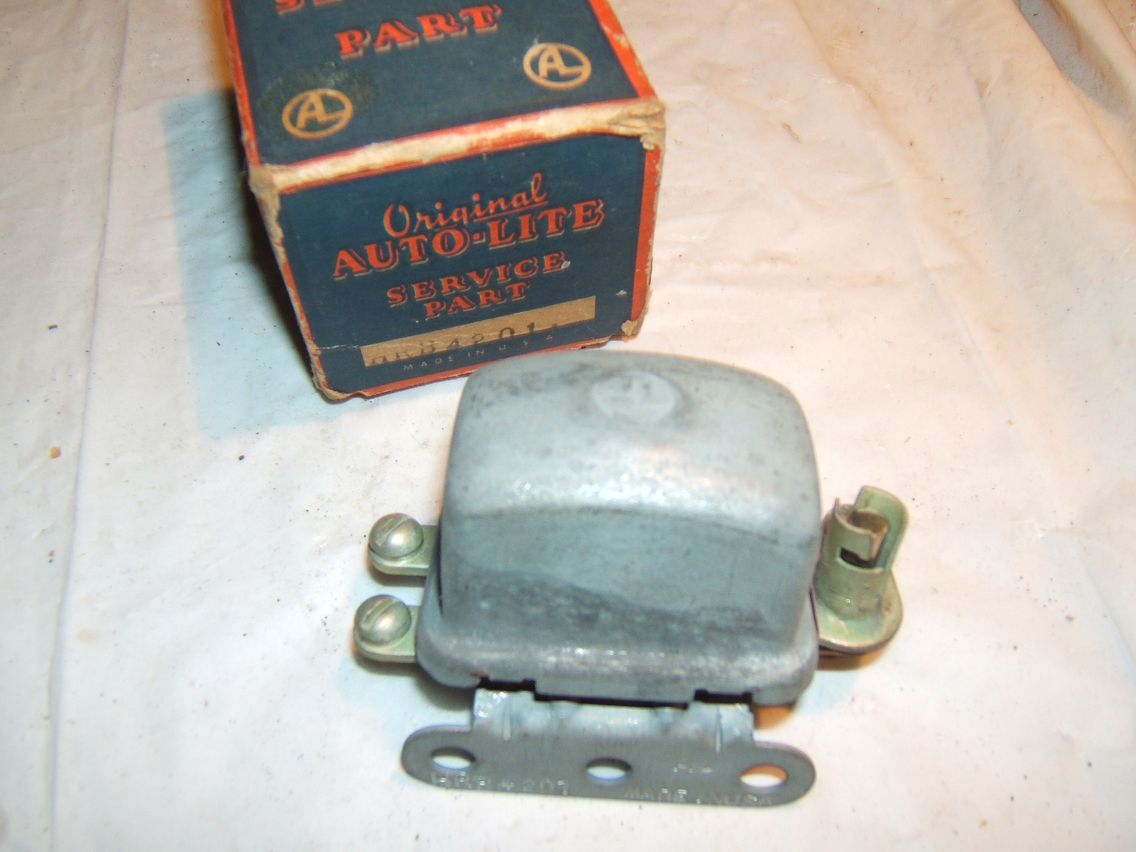 1940 1941 Hudson headlight relay nos autolite hrb-4201