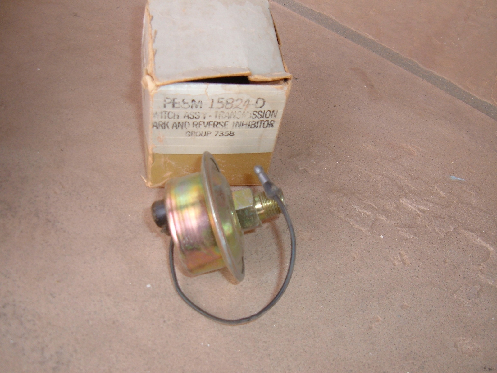 1958 lincoln mercury automatic transmission park and reverse inhibitor nos ford PB8M-15824-D (z pb8m15824d)