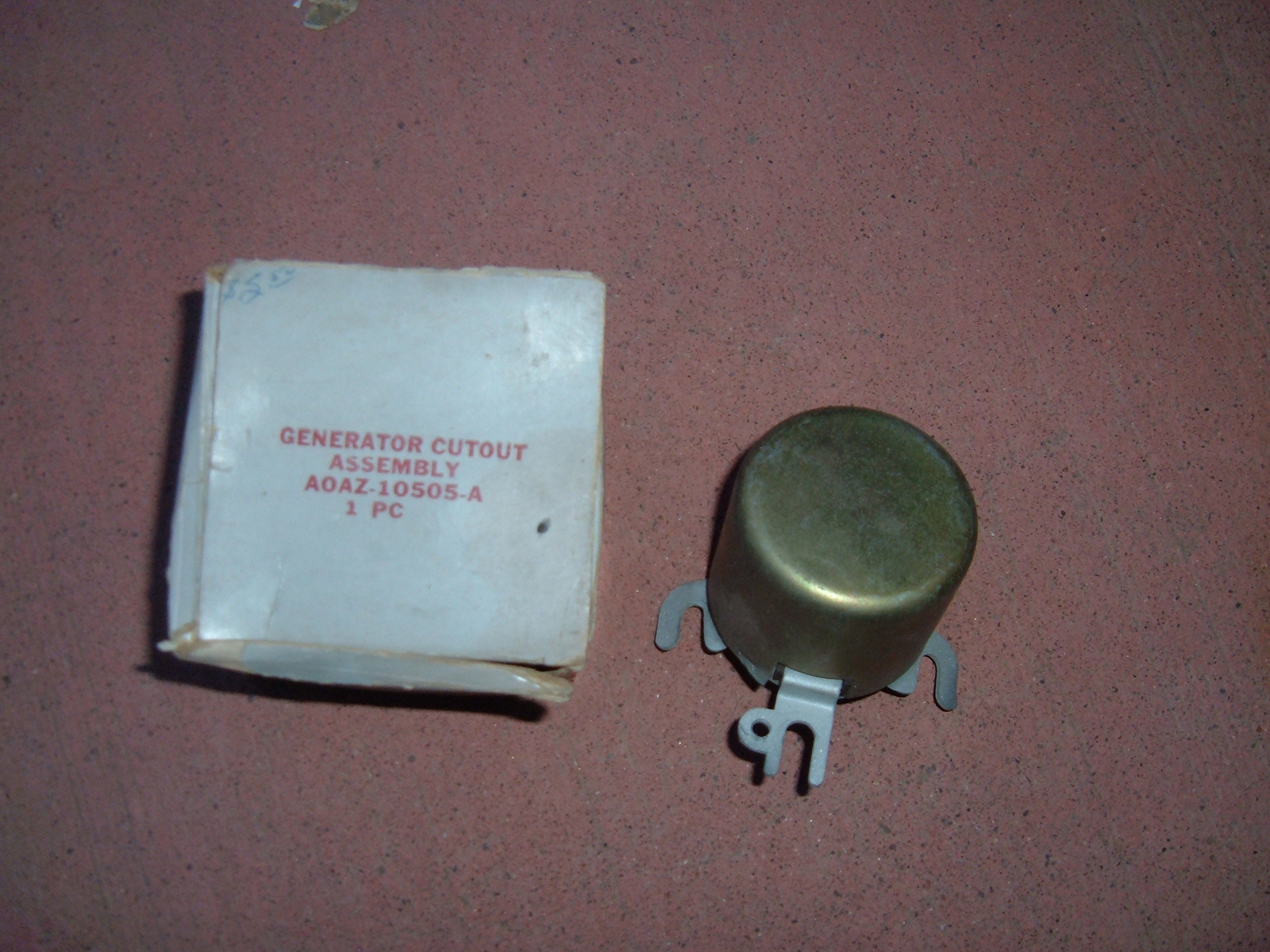 1940 ford 6 vt generator cut out relay nos ford A0AZ-10505-A (z a0az10505a)