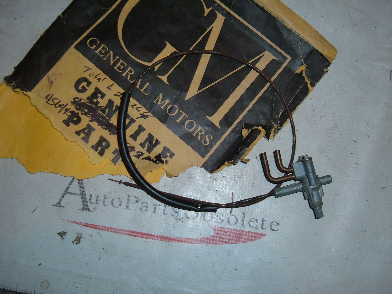 1950 51 52 chevrolet windshield wiper switch nos gm 4564459 (z 4564459)
