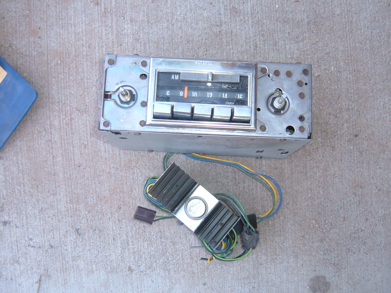 1971 72 73 corvette am/fm radio original used (z 71-3 corvette radio)
