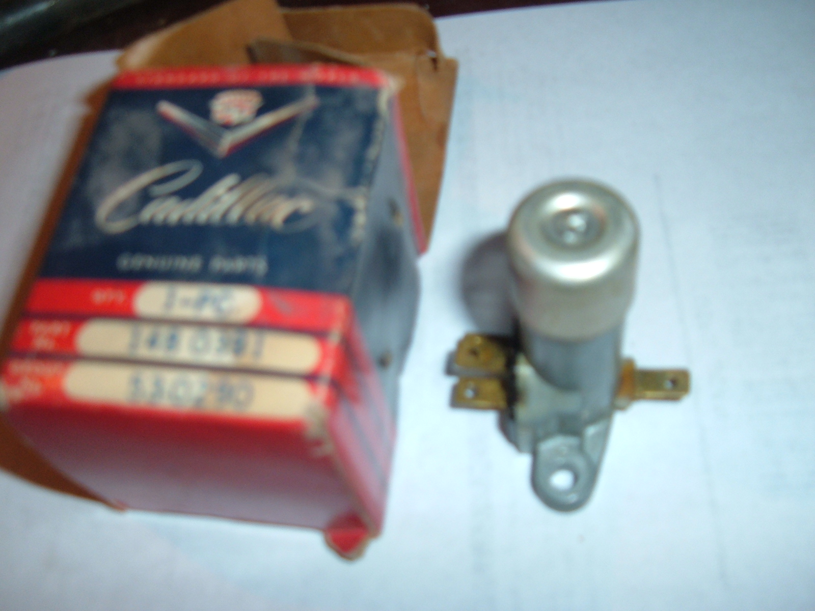 1961 62 63 cadillac headlight dimmer switch guide-o-matic nos gm 1480391 (z 1480391)