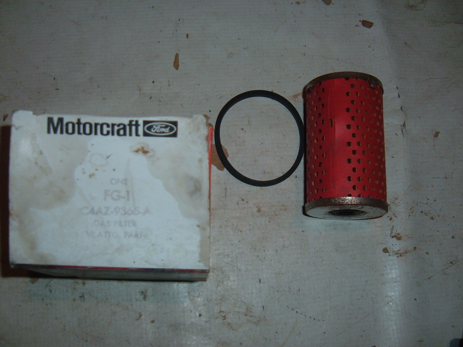1964 65 66 67 68 69 70 71 ford mercury all models fuel filter nos ford C4AZ-9365-A (Z c4az9365a)