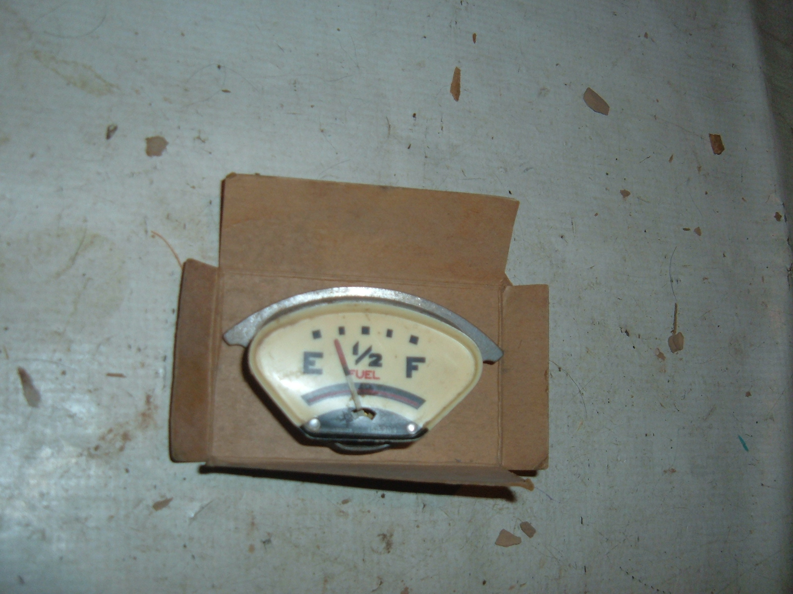 1936 pontiac fuel gas gauge nos gm 1515304 (z 1515304)