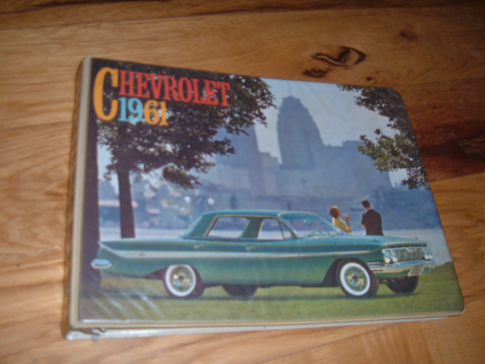 View Product1961 Chevrolet Dealer Showroom Album Corvette nova impala (z