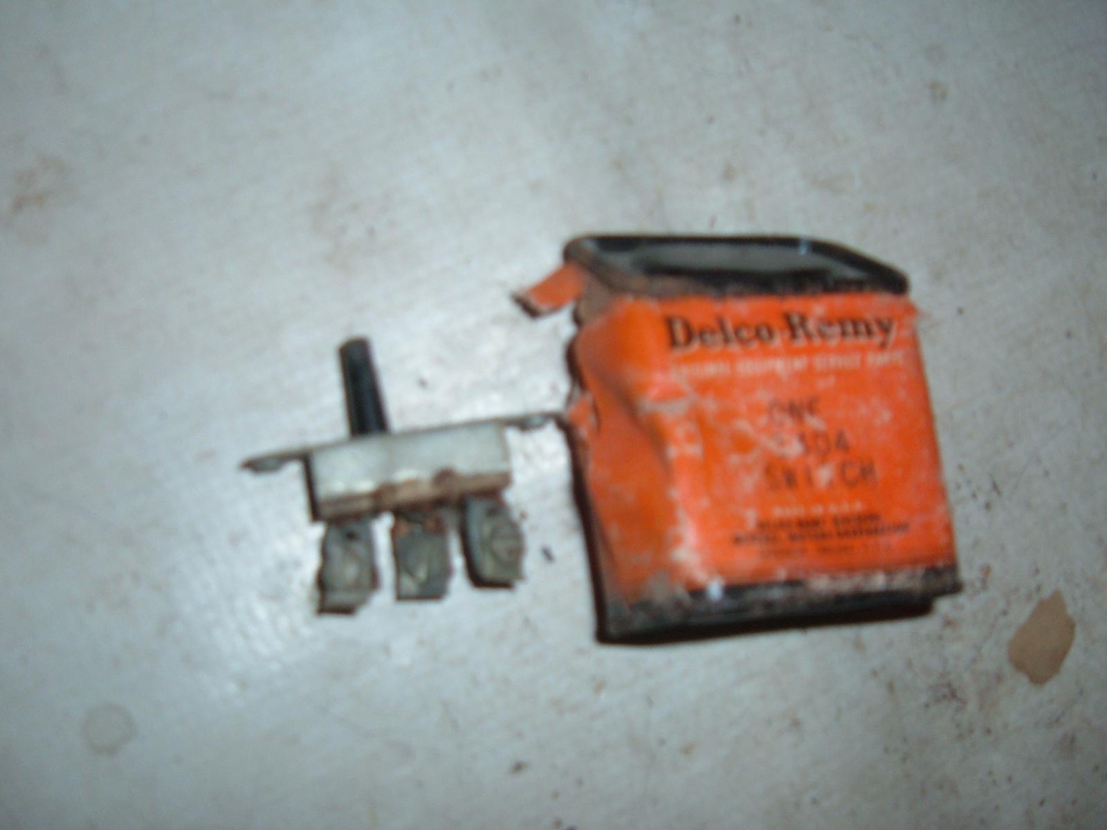 1936 37 38 39 40 41 buick oldsmobile chevrolet dash light switch nos gm 1404 (z 1404)