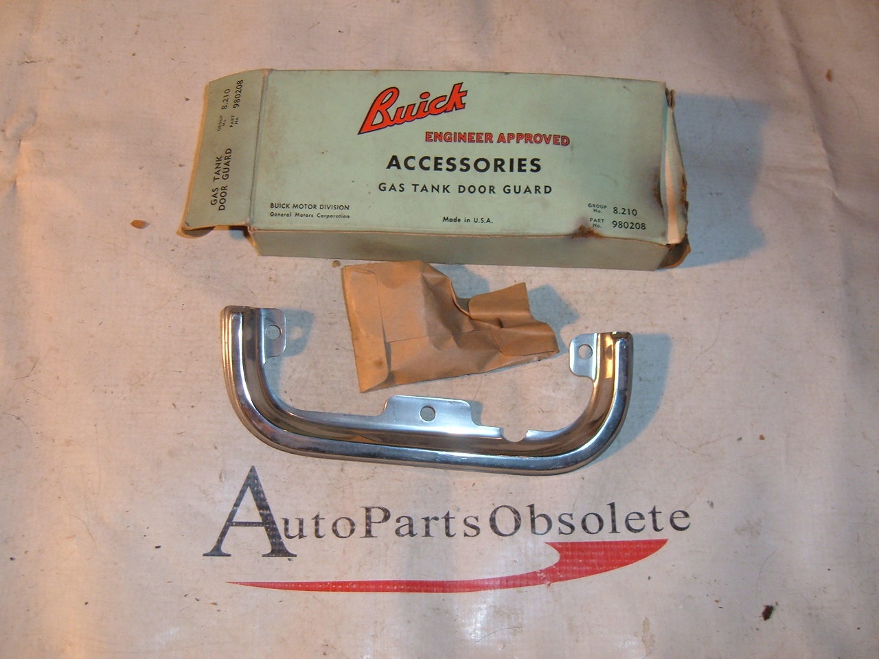 Buick Special Skylark Gs Parts 1968 1969 70 71 72 Gsx Electra Lesabre Wiring 1961 1962 Gas Lid Fuel Door Guard 980208 Z