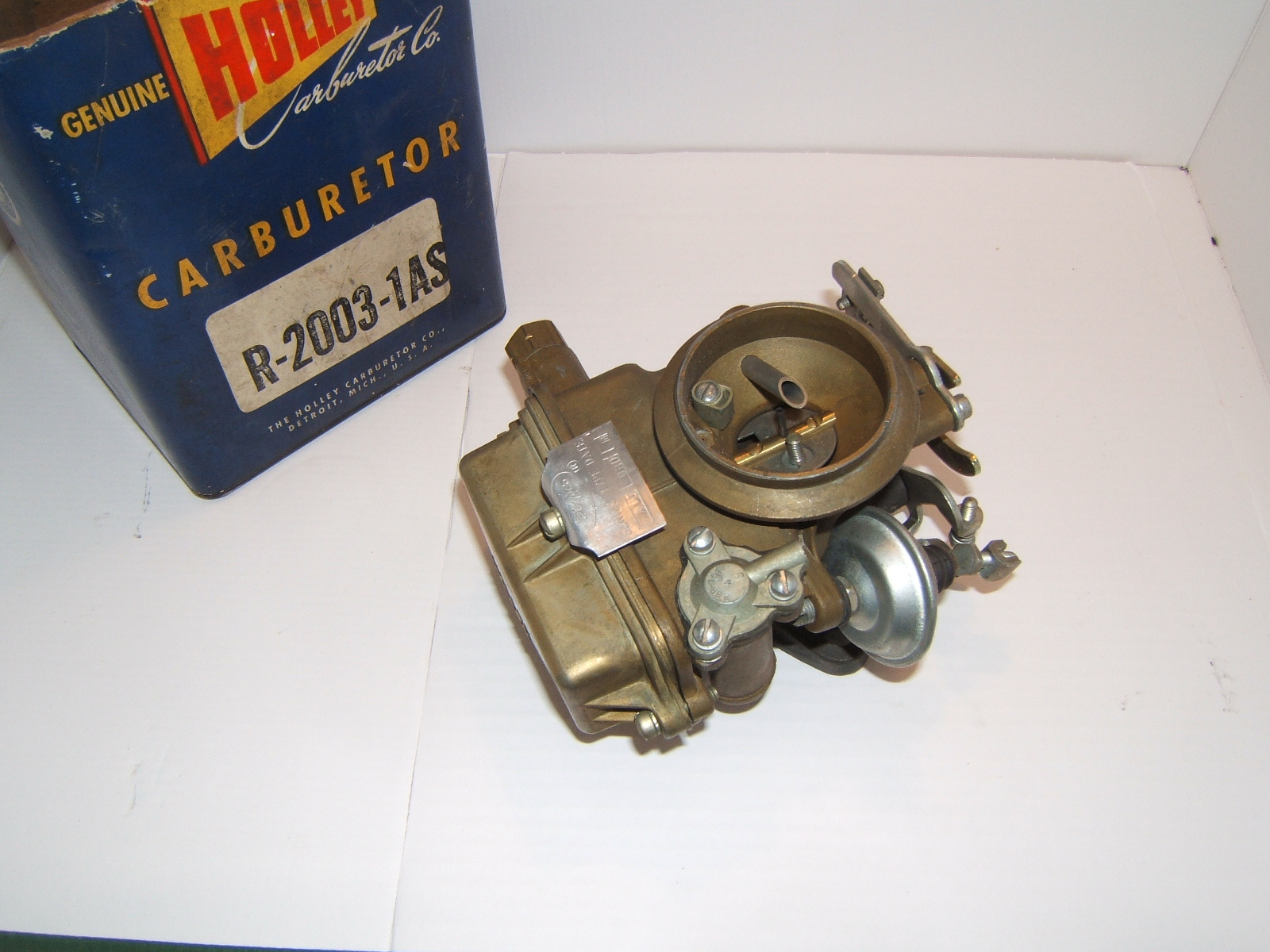 1960,1961 falcon comet carburetor holley nos r-2003-1a (a r2003-1as)